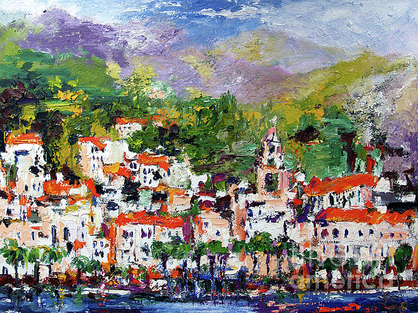 Amalfi Italy by Ginette Callaway