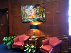 Ginette Callaway Paintings At Georgia State Capital